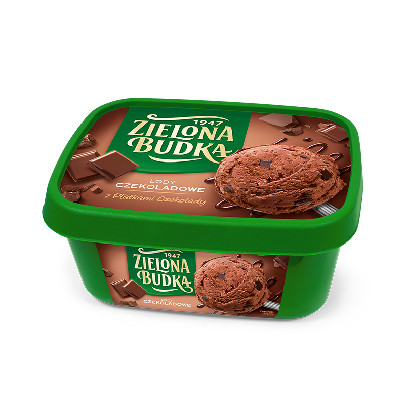 Zielona Budka Chocolate with chocolate flakes